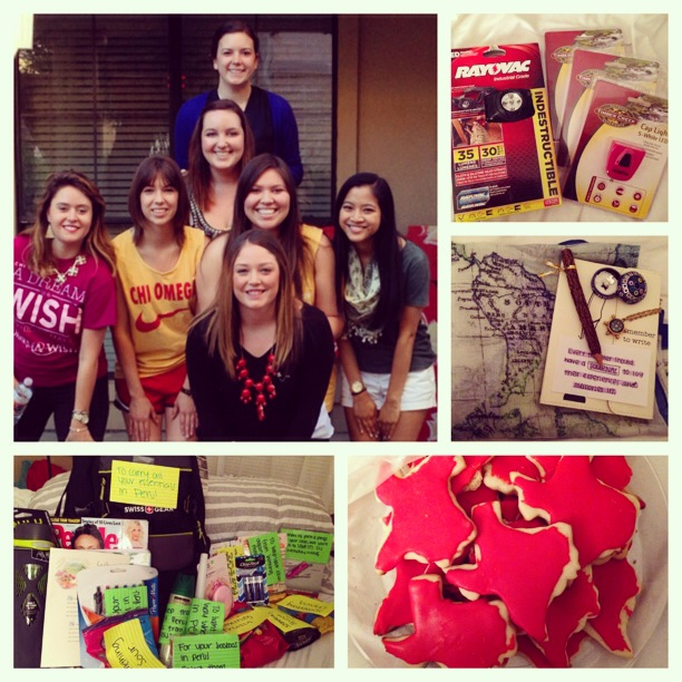 Gifts for Peru and sorority family