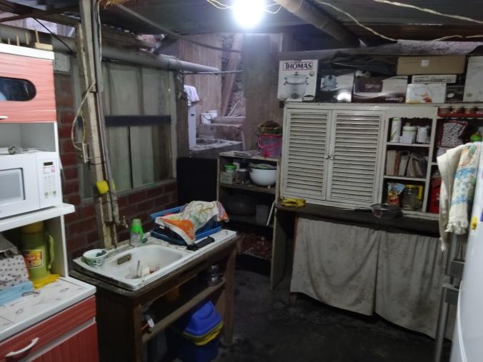 kitchen in Peru