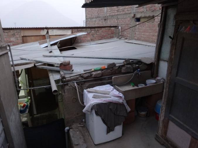 tin roof in Peru