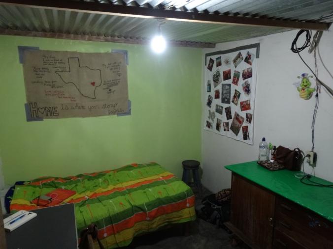 Peace Corps room in Peru