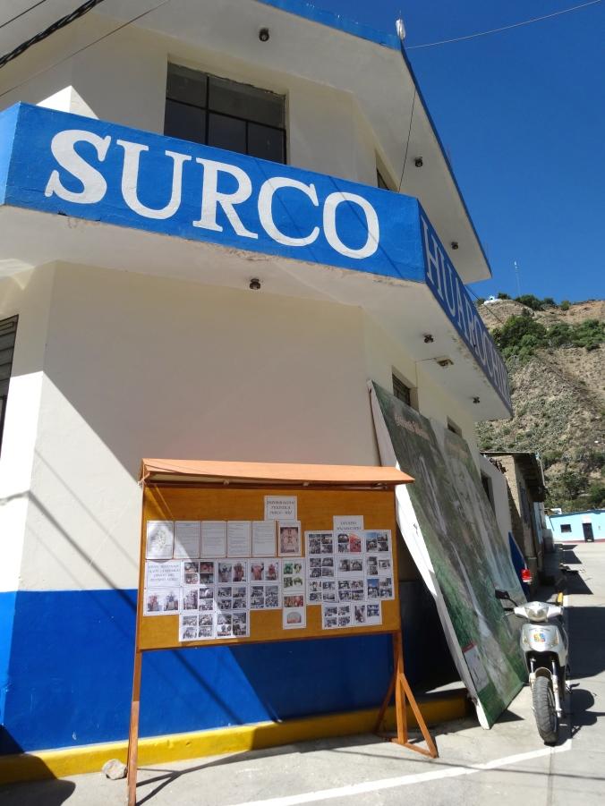 Surco Municipality Peace Corps Peru