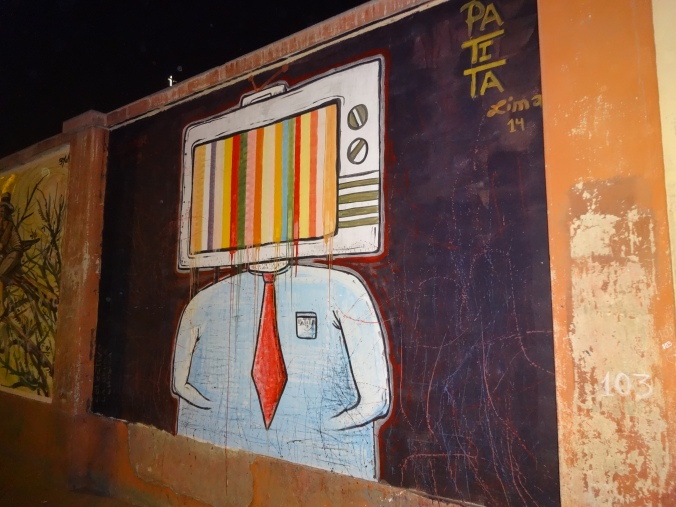 Street art in Chosica