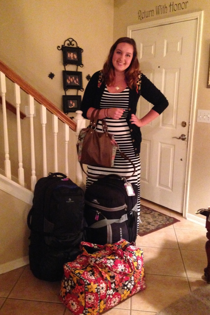 Leaving for Peace Corps Peru
