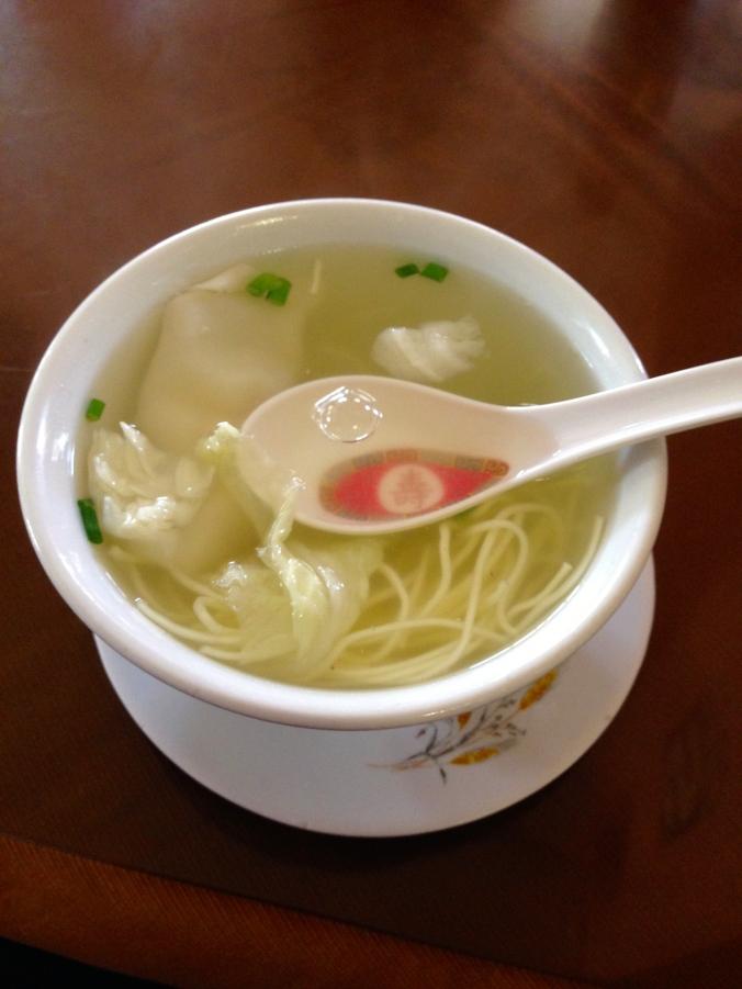Wonton Soup in Peru