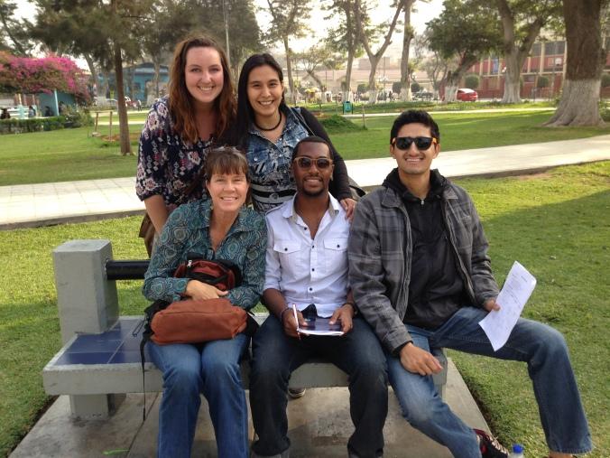 Spanish class in Chosica, Peru