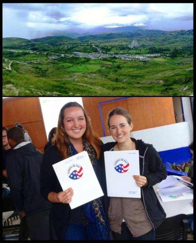 New Peace Corps Volunteers in Santa Cruz, Cajamarca, Peru