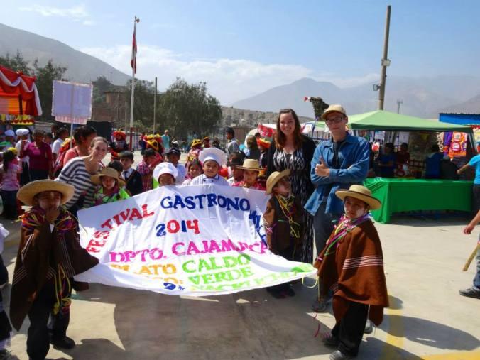 Cajamarca traditional dress kids