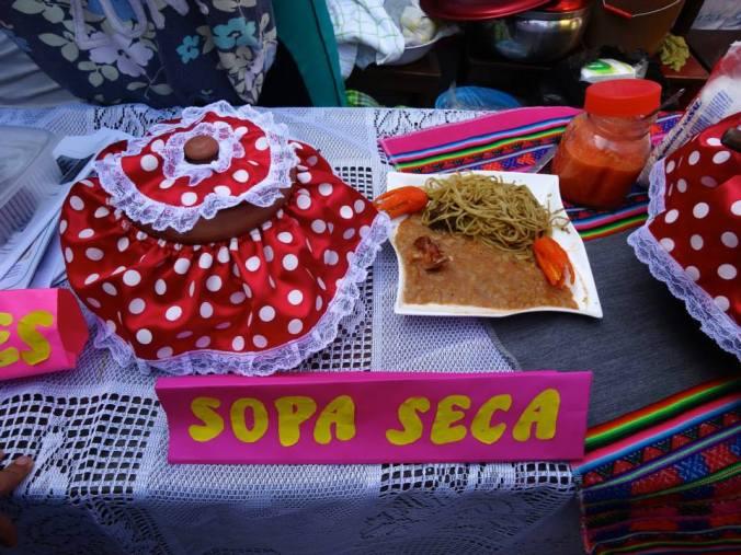 Sopa Seca in Yanacoto, Peru