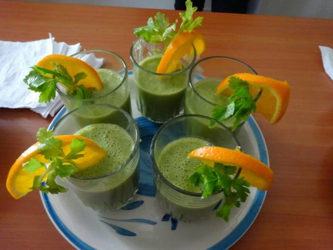 Peace Corps Master Chef Green Smoothie