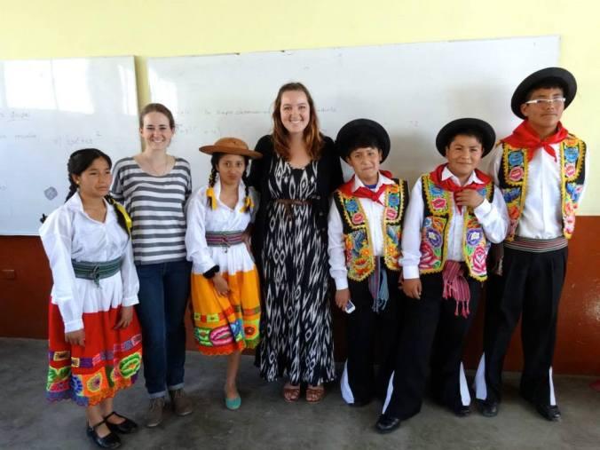 Secondaria class in Peru