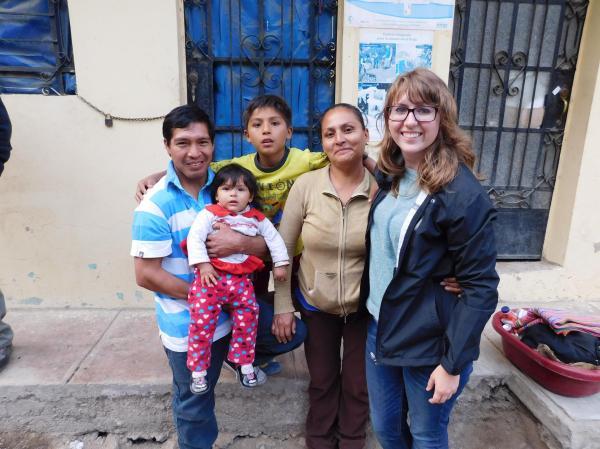 Karson Peace Corps Peru Community Economic Volunteer