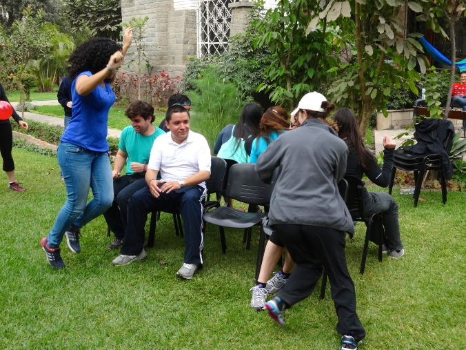 Musical chairs Peace Corps Peru
