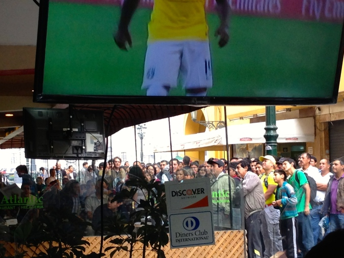 Chile vs. Brazil World Cup