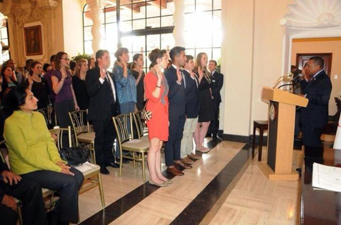 Peace Corps Peru 23 Swearing In