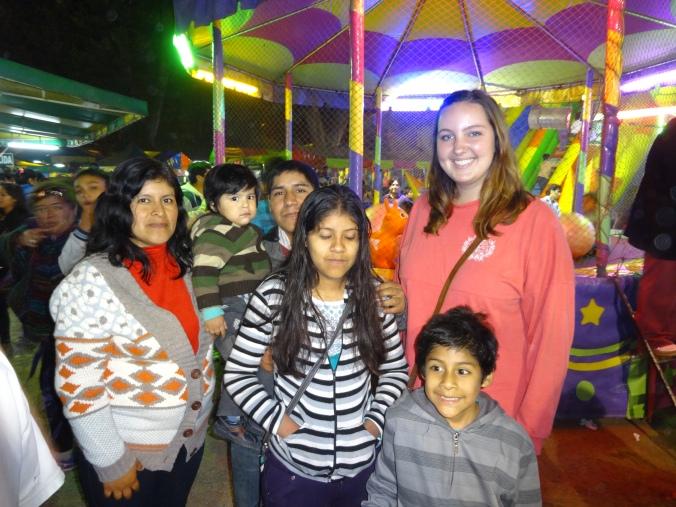 Fiestas Patrias in Chosica, Peru