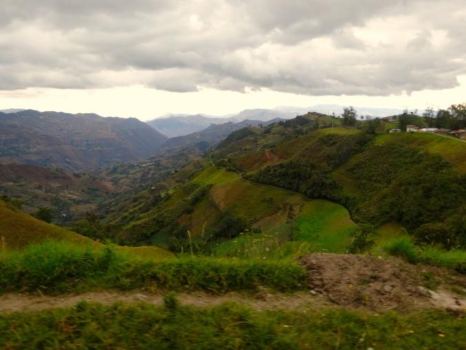 Road to Santa Cruz, Cajamarca