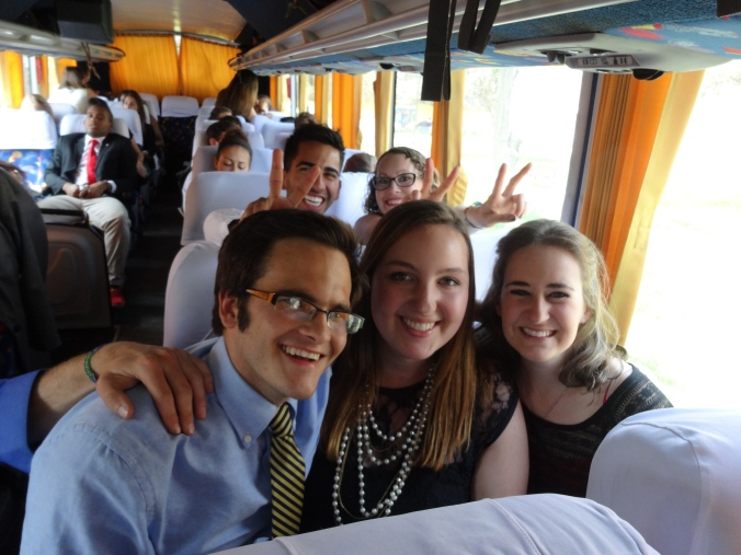 Bus to Peace Corps Peru Swearing In