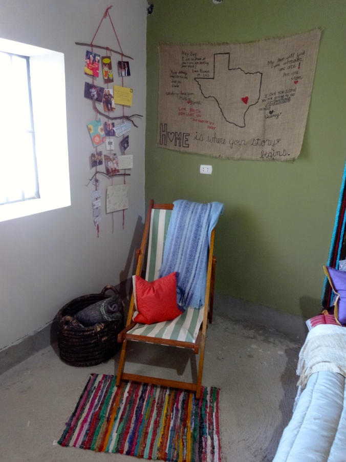 Peace Corps Peru room after renevation