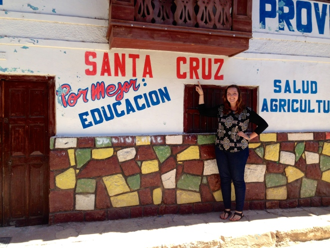 Santa Cruz Cajamarca Political Propoganda