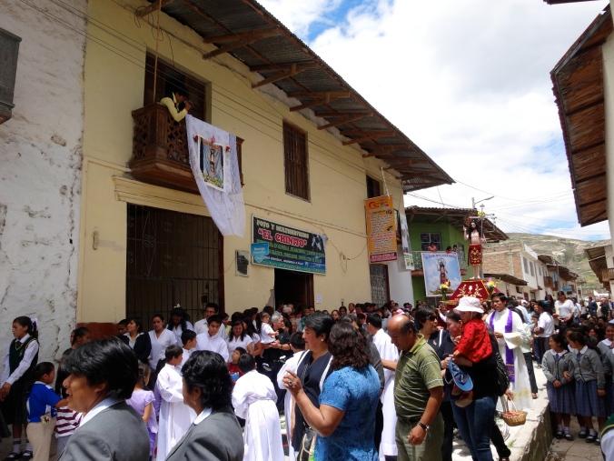 processional in Peru