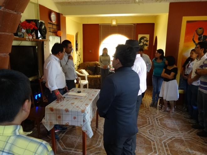 wedding in Peace Corps Peru
