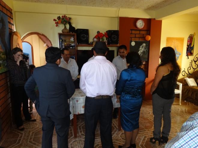 sierra wedding in Peru