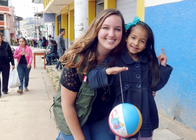 Peace Corps Volunteer in Peru