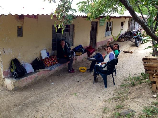 campo house in Peru