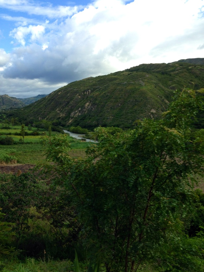 Peruvian countryside Cajamarca