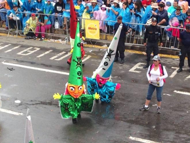 Carnaval in Cajamarca, Peru