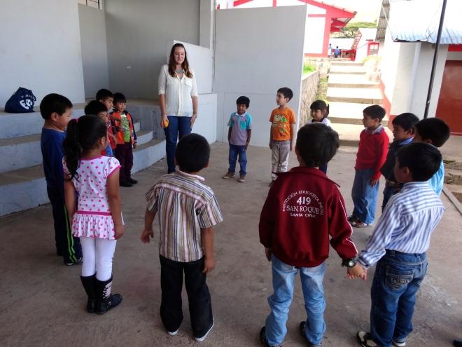 Peace Corps Peru volunteer work