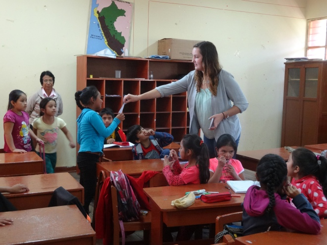 Primaria in Cajamarca, Peru