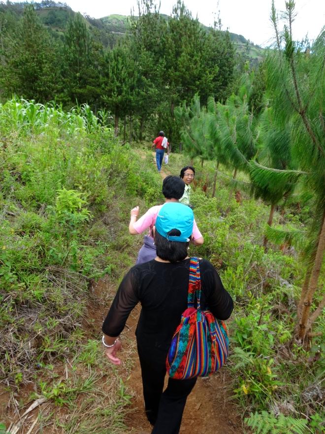 Peace Corps Peru Volunteer hike