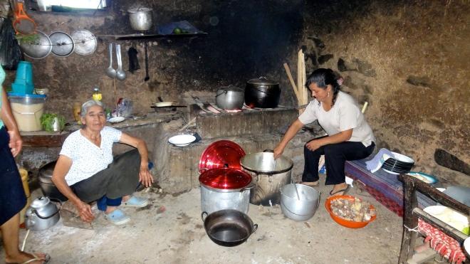 Adobe Kitchen Cajamarca, Peru