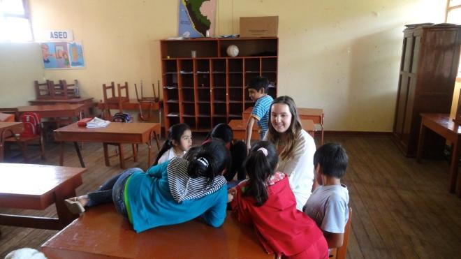 Elementary in Peace Corps Peru
