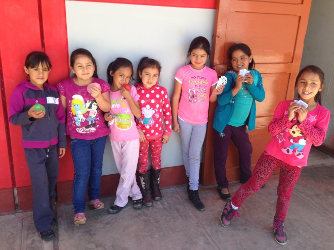 Students in Cajamarca, Peru