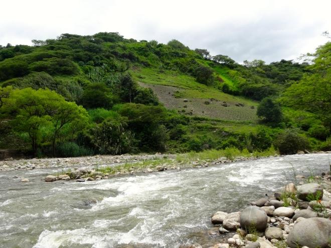 river in Santa Cruz, Cajamarca, Peru