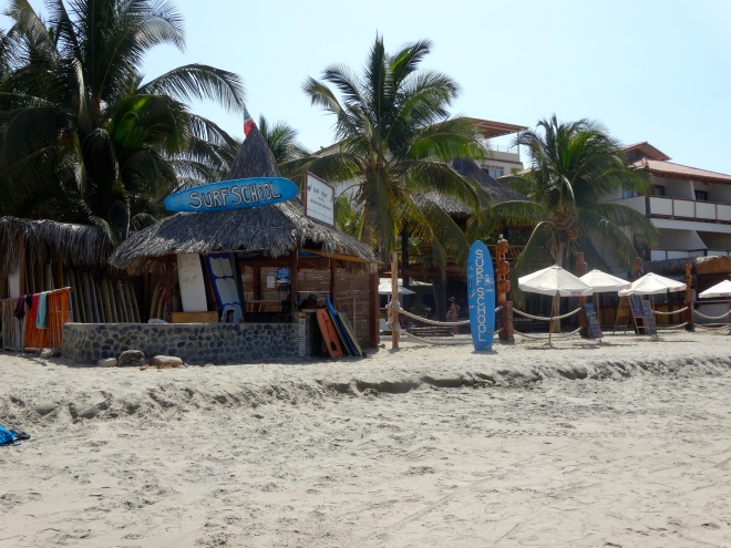 Surf School in Mancora, Peru
