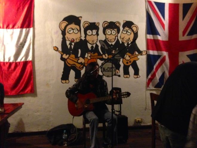 Live music at Mc Cuy's Cajamarca