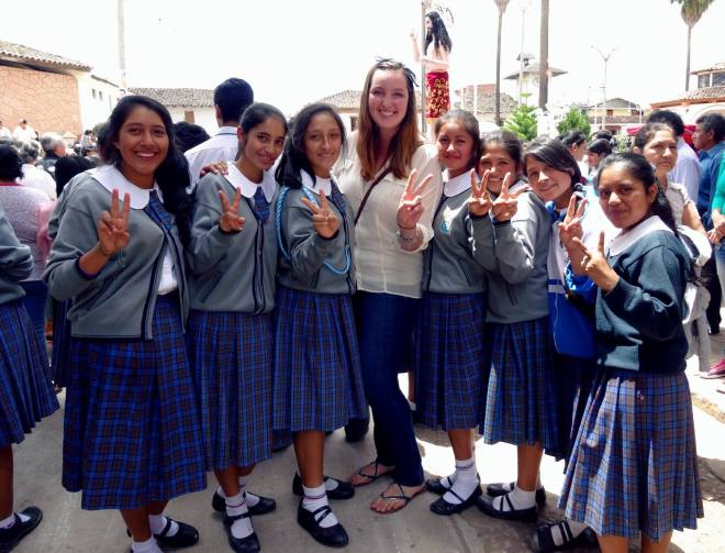 School Uniform in Peru