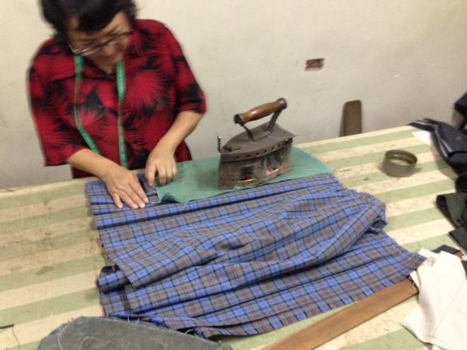 handmade skirt in Peru