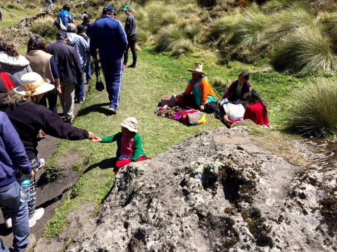 Children in Cumbe Mayo, Peru