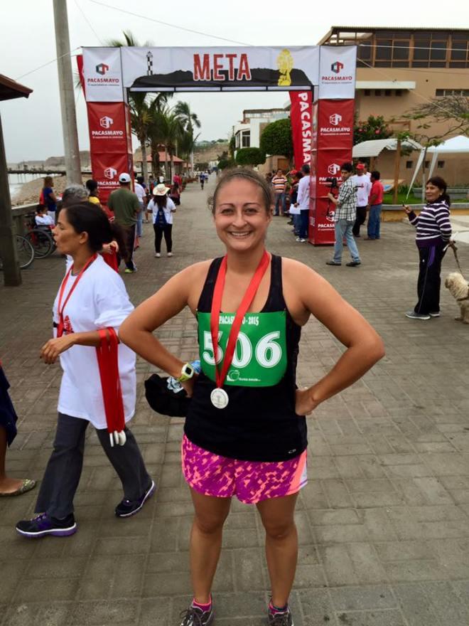 Peace Corps Volunteer Pacasmayo Internacional Maraton