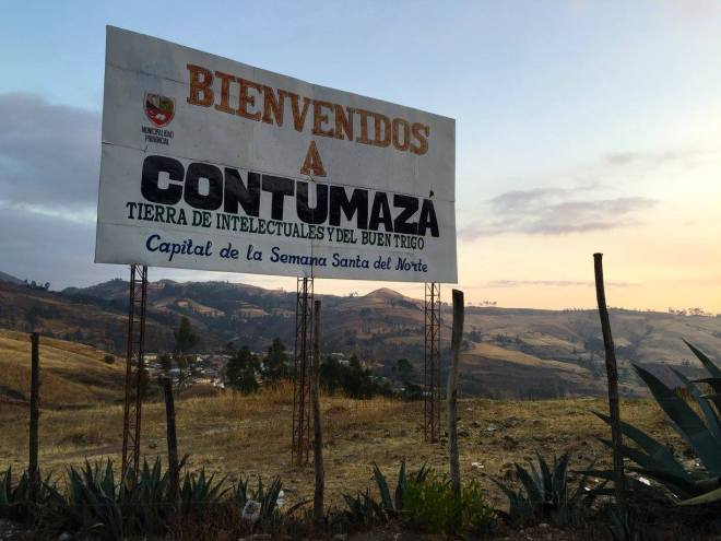 Welcome to Contumaza, Cajamarca, Peru Peace Corps Volunteer Site change