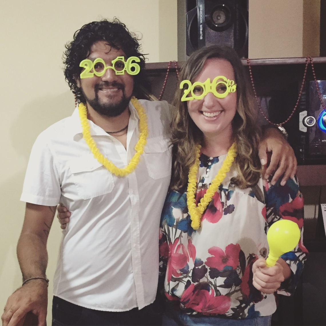 Peace Corps Peru Volunteer New Years Eve