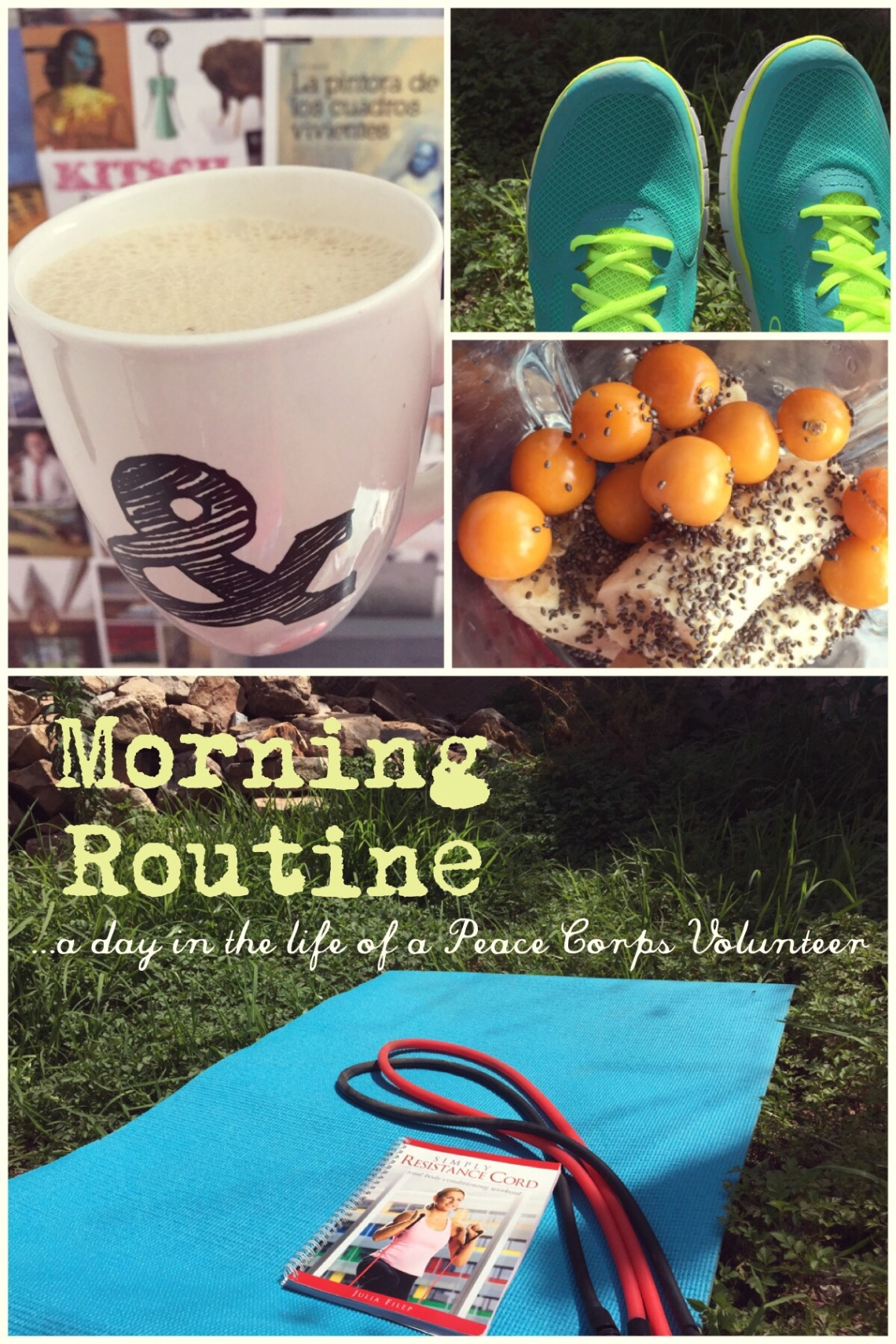 Morning Exercise and Healthy Breakfast Routine