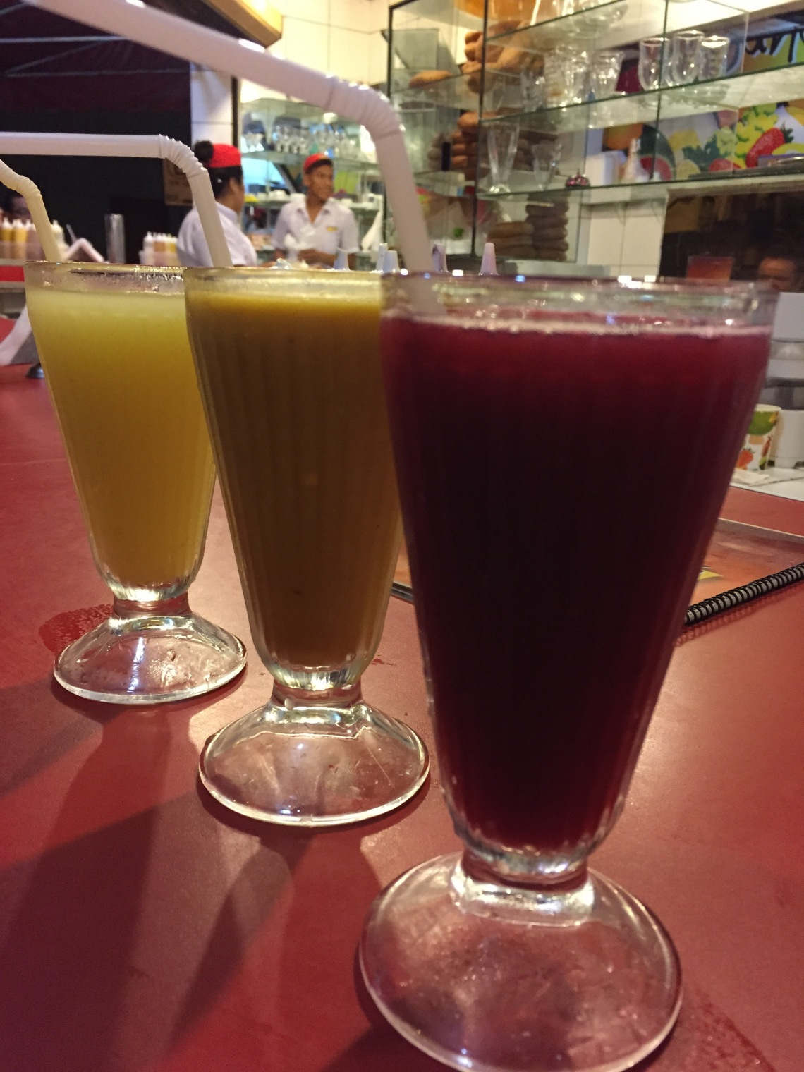 Fresh Fruit Juice in Peru