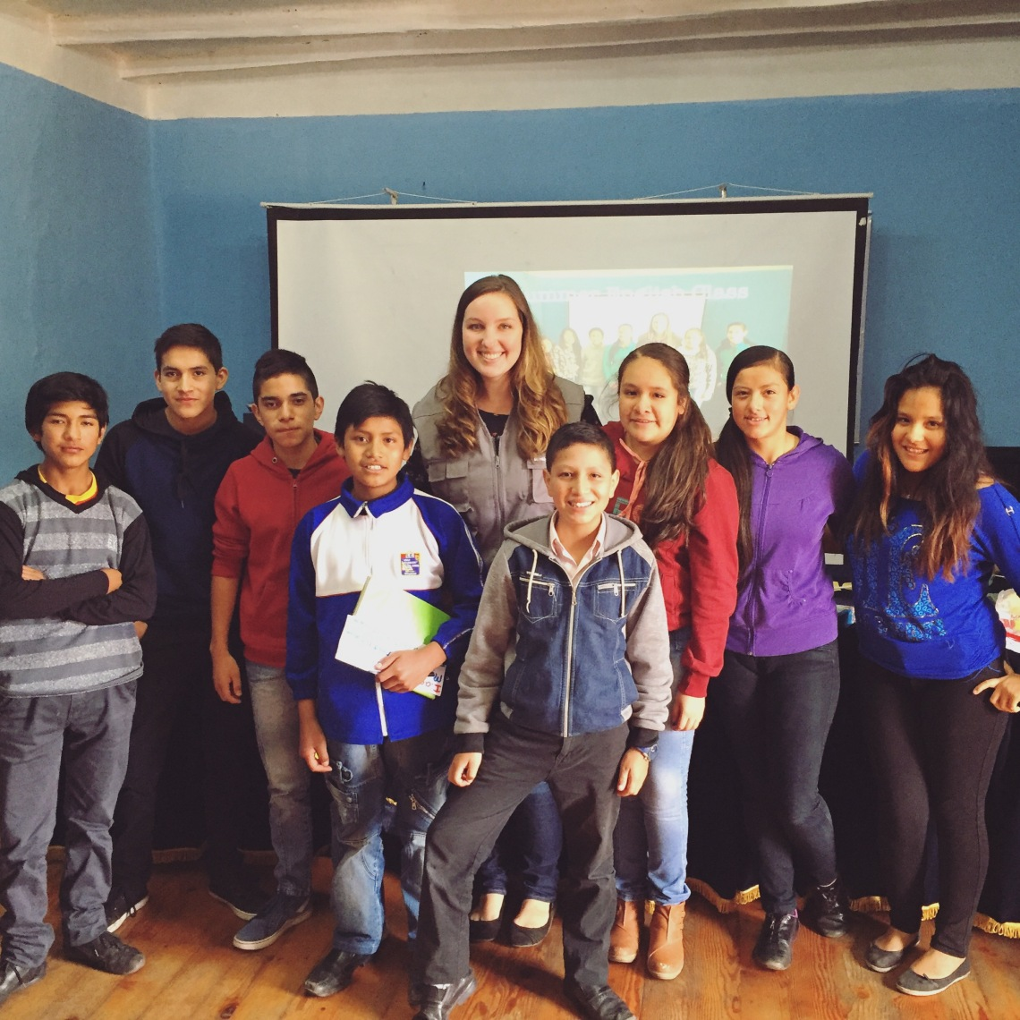 Peace Corps Peru English and World Culture Class Summer School