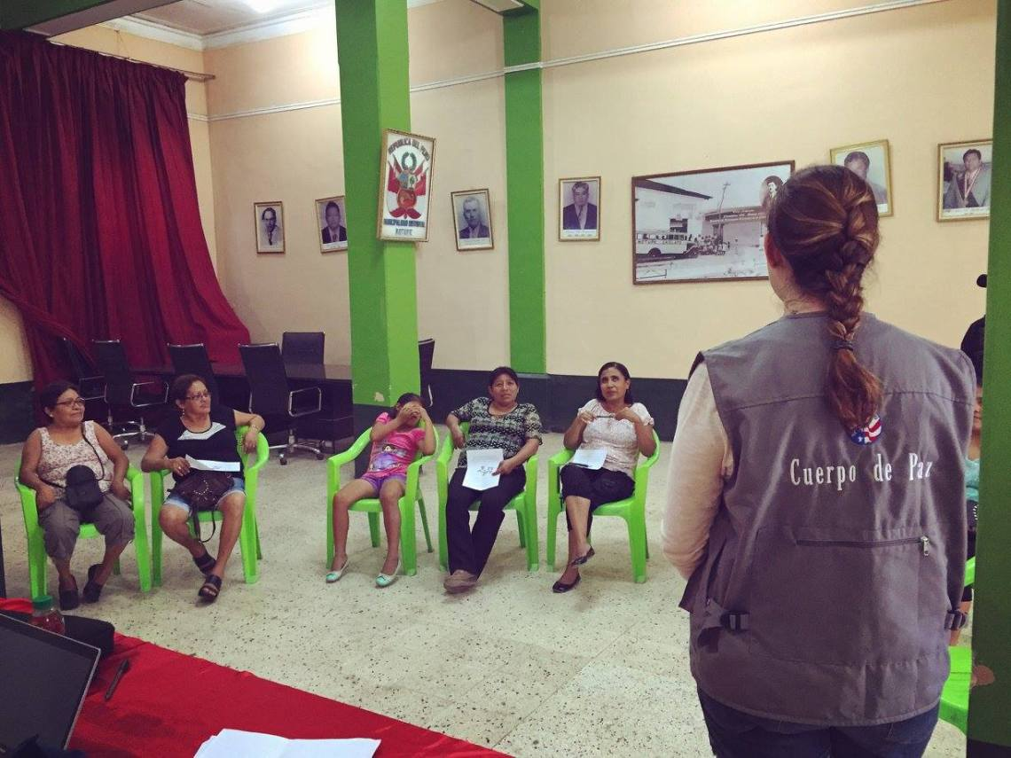 Peace Corps Peru Income Generating Activities Workshop