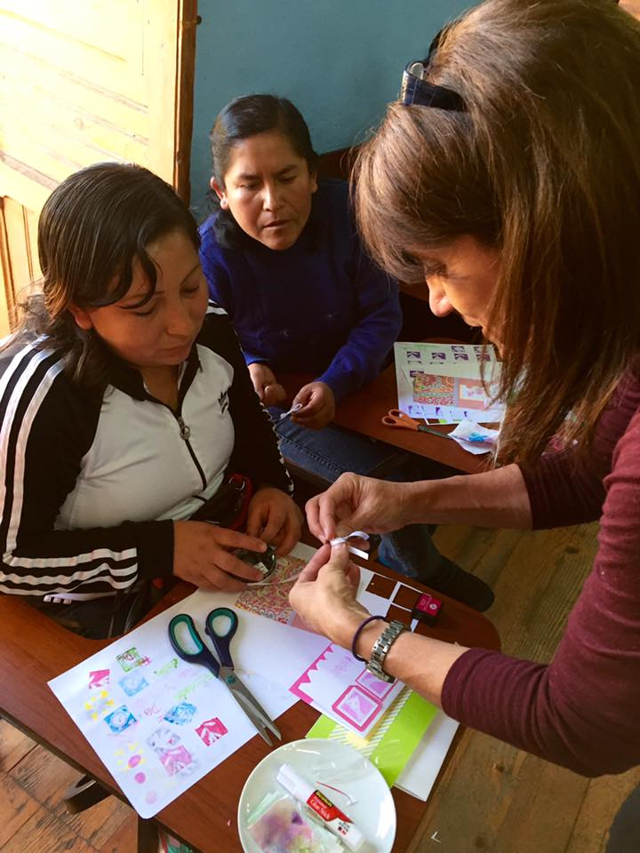 IGA Womens Scrapbooking Workshop Peace Corps Peru 1